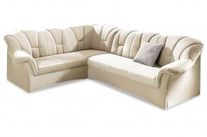 Ecksofa XL Papenburg links - Creme