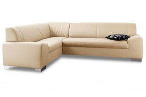 Ecksofa XL Alisson links - Creme