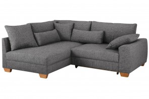 Castello Ecksofa XL Helena links - Anthrazit