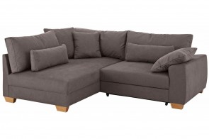 Castello Ecksofa XL Helena links - Braun
