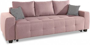 Collection AB 3er-Sofa Bella - mit Schlaffunktion - Pink
