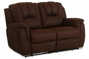 Atlantic Collection 2er-Sofa Marko - mit Relax - Braun