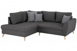 Castello Ecksofa XL Penelope links - Anthrazit