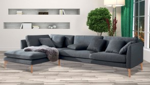 Stolmar Ecksofa XL Modena links - Anthrazit