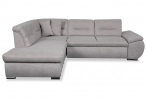 Meble Sofa L-Form Orca - mit Schlaffunktion - Beige