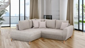 Ecksofa XL  links - Grau