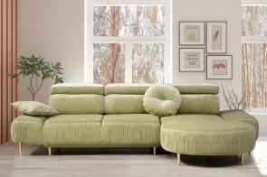 Sofa L-Form Palazzo rechts - mit Relax