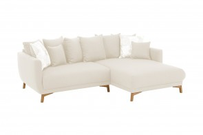 Sofa L-Form Tilda - Creme