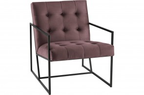 Furntrade Sessel Lounge-Chair - Pink