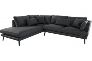 Stolmar Ecksofa XL Gondola links - Anthrazit