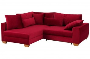 Castello Ecksofa XL Kerstin links - Rot