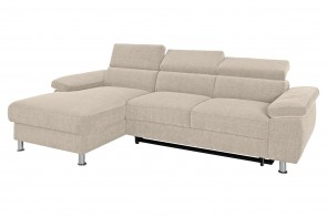 Castello Ecksofa Lasse links - Beige