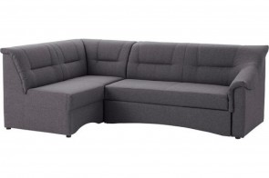 Ecksofa XL Charlotte links - Grau
