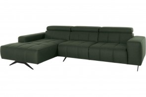 Ecksofa Trento links - Gruen