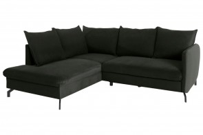 Castello Ecksofa XL Shape links - mit Schlaffunktion - Anthrazit
