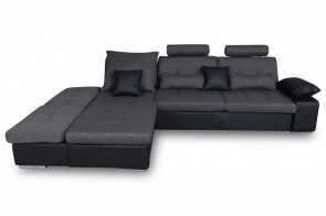 GHG PL Ecksofa XL Change links - Grau