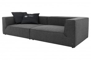 Tom Tailor Bigsofa BIG CUBE - Anthrazit