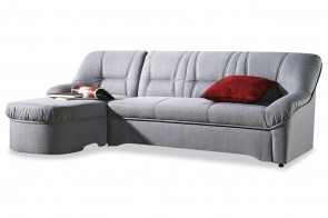 Furntrade Ecksofa Steffi links - Grau