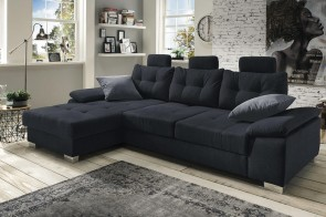 Benformato Sofa L-Form Brezza links - mit Schlaffunktion - No