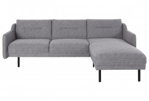 Domo Collection Ecksofa Nordfyn - Grau