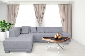 meble  Ecksofa XL Peter AL-P links - Grau