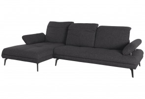 Collection Sofa L-Form - mit Sitzverstellung - Anthrazit