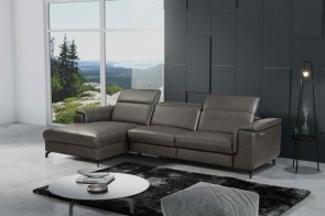 Sofa L-Form Ralph-P links - mit Relax