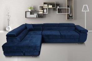 Furniture4you  Eckcouch Amaro-P links - mit Schlaffunktion - Farbe