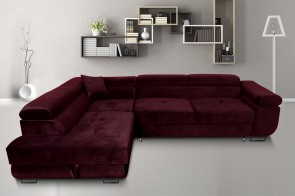 Furniture4you  Ecksofa Amaro-P - mit Schlaffunktion - No