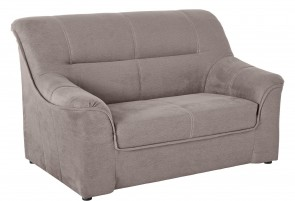 Collection 2er-Sofa - Taupe mit Federkern