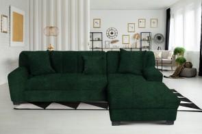 Domo Sofa L-Form Emily 2 rechts - mit Schlaffunktion - No