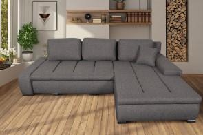 Robert Design Sofa L-Form Taro rechts - mit Schlaffunktion