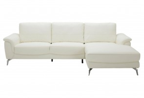 Sofa L-Form Silly II - Weiss