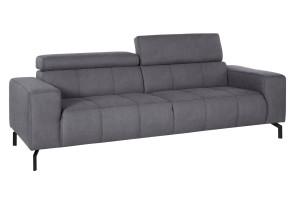 2er-Sofa - Grau