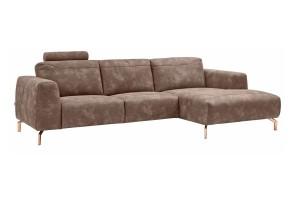 Sofa L-Form - Taupe