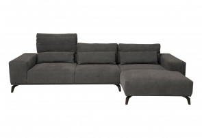 Tom Tailor Ecksofa - Anthrazit