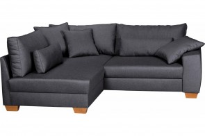 Ecksofa Helena links - Anthrazit