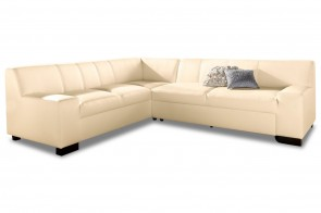 Ecksofa XL Norma links - Beige