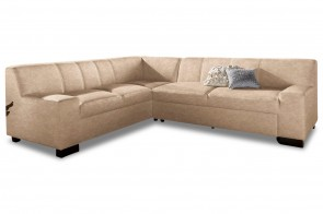 Ecksofa XL Norma links - Creme