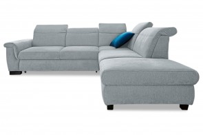 Ecksofa XL Sully - Grau