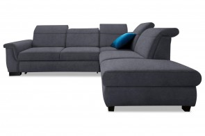 Ecksofa XL Sully rechts - Anthrazit