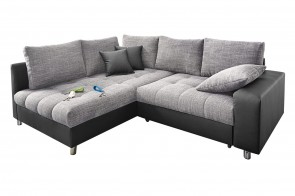 Castello Ecksofa XL Tobi links - Grau