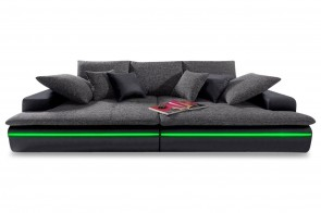 Castello Bigsofa Haiti 260 - mit LED - Anthrazit