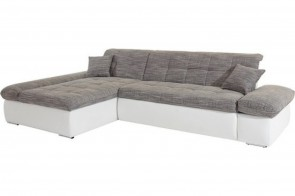 Sofa L-Form Moric Kis links - Grau