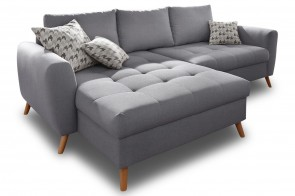 Castello Ecksofa Blackburn links - Grau