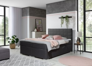 Boxspringbett 180x200 Alice - Anthrazit
