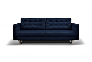 3er-Sofa Tivoli - mit Schlaffunktion - Dunkelblau