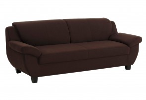 Domo Collection 2er-Sofa Yesterday - Braun