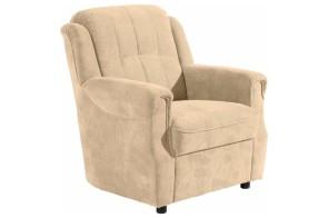 Max Winzer Sessel Manhattan - Beige mit Federkern