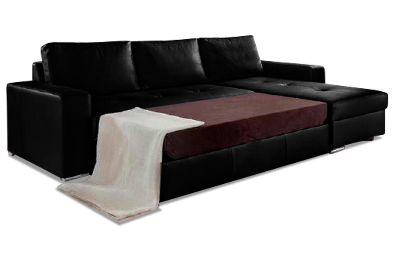 Leder Ecksofa Florentina  Anthrazit  Sofa Couch Ecksofa -> Ecksofa Leder Anthrazit